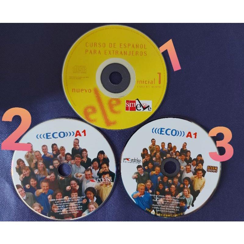 西班牙語CD光碟 ECO A1 edelsa initial 1