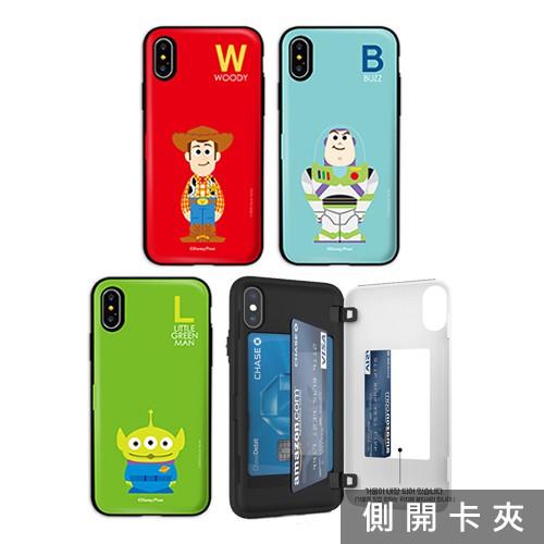 韓國 迪士尼 三眼怪 手機殼 磁扣卡夾│5G A52 A42 A71 A51│A50 A30s A9 A8s A8