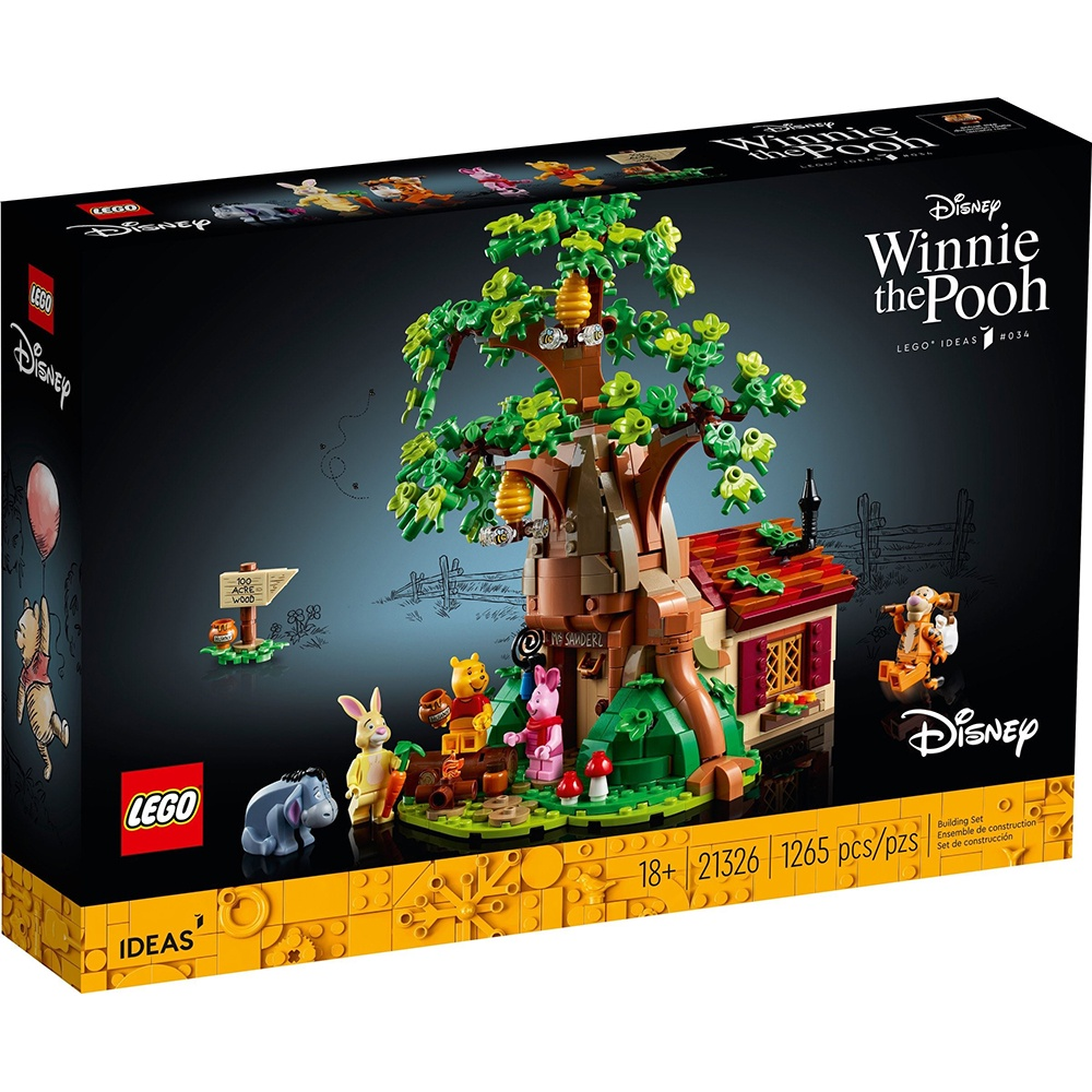 樂高積木 LEGO LT21326 Winnie the Pooh_IDEAS創意大師系列