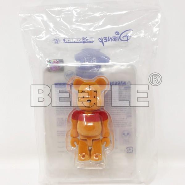 BEETLE BE@RBRICK BEARBRICK 小熊維尼 維尼熊 POOH 植絨 庫柏力克熊 100% 全新