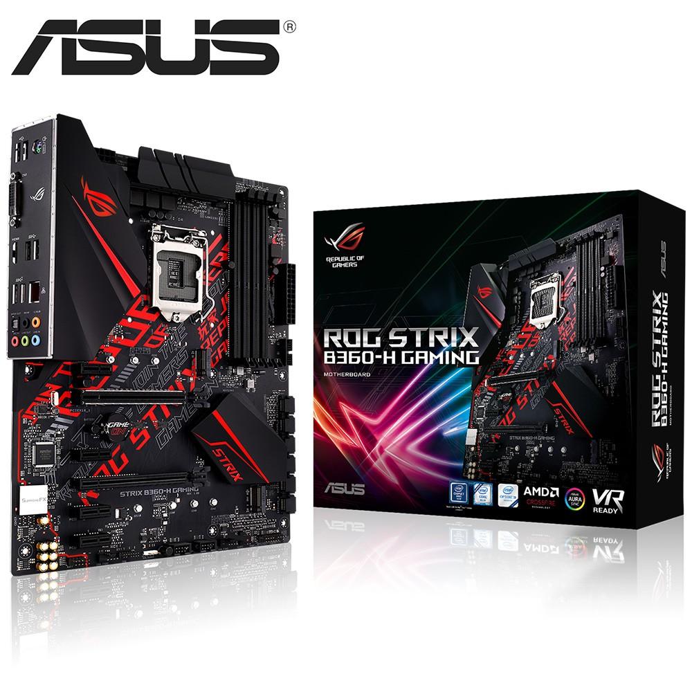 ASUS ROG-STRIX-B360-H-GAMING 華碩 主機板 全新公司貨 附發票