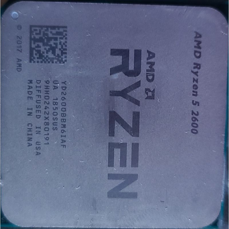 AMD Ryzen5 2600 單顆散片
