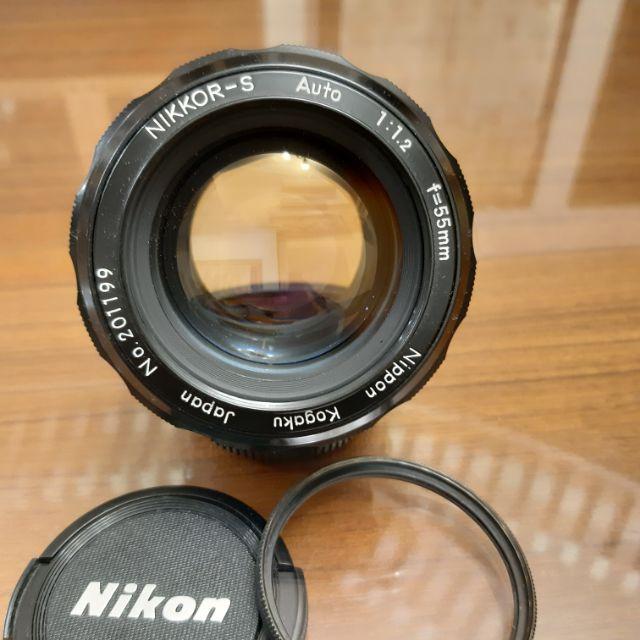 Nikon Nikkor-S non-AI 55mm F1.2