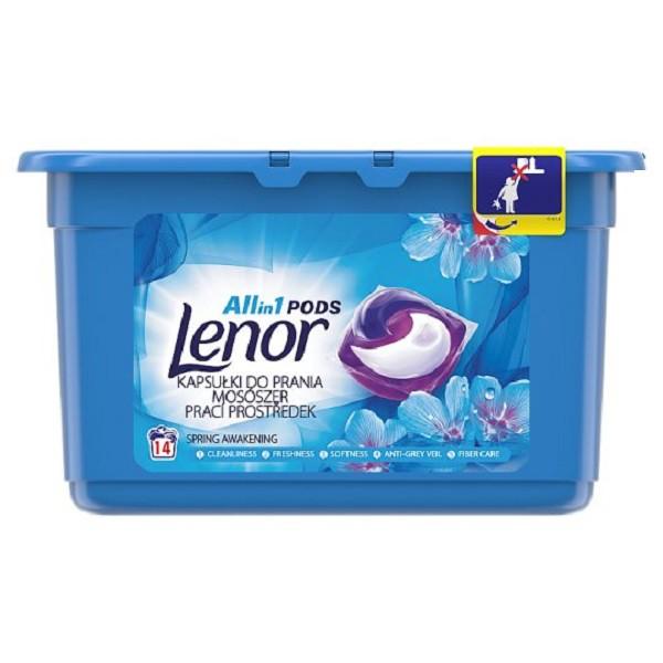 Lenor三合一洗衣膠囊14入【康是美】