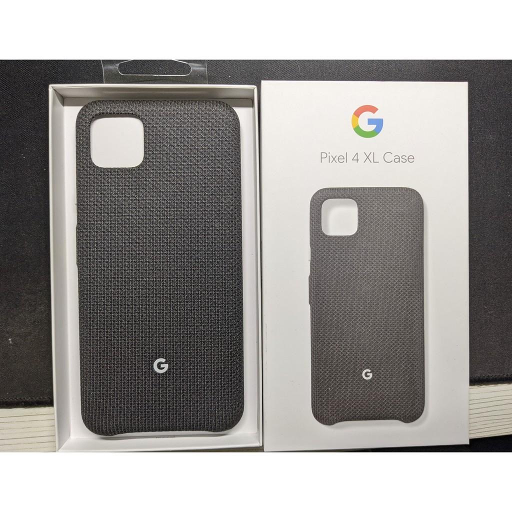 Google Pixel 4 XL 原廠織布保護殼 純粹黑