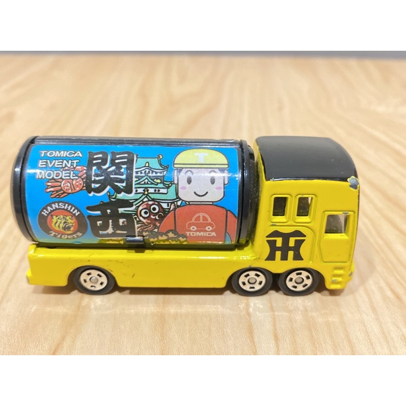 TOMICA T君 會場 特注 關西阪神虎 HANSHIN Tigers 圓罐車 可口可樂 54