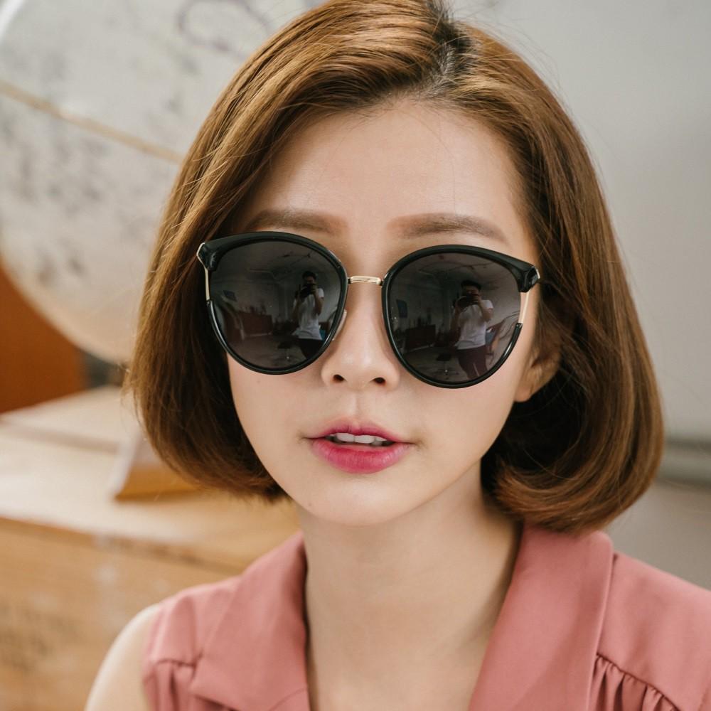 貓眼設計金屬鏤空寶麗來偏光墨鏡│UV400太陽眼鏡│名伶的歌劇院│ALEGANT