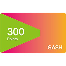 [可刷卡] Gash Point 300點 (非代儲)聊聊發卡 可刷卡台南面交