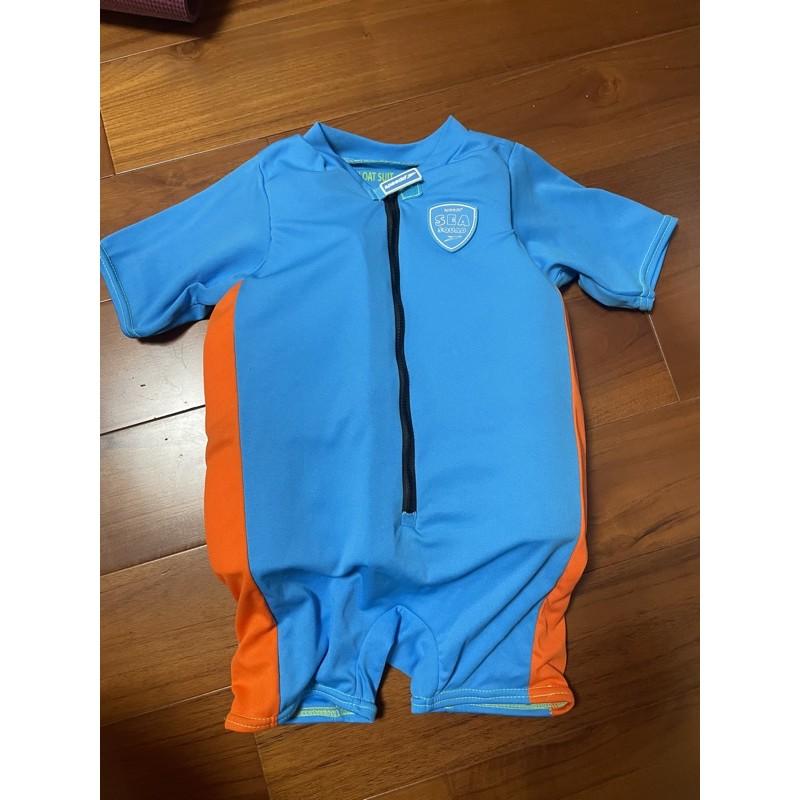 speedo 兒童浮力連身泳衣(二手)