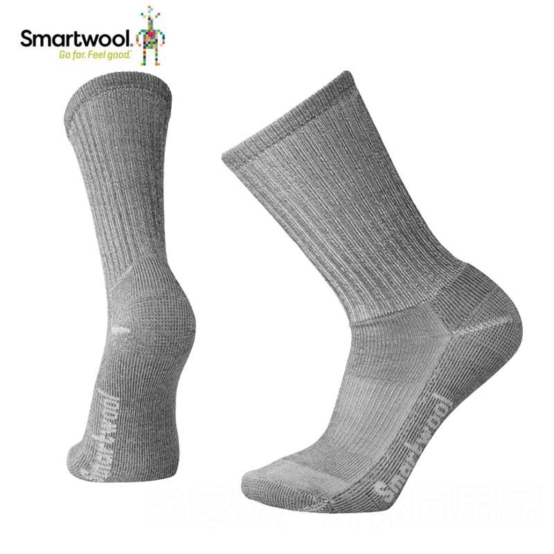 【SmartWool 美國】戶外運動健行襪 徒步襪 登山襪 運動襪 健行襪 灰色 SW0SW129043 M/L