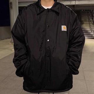 carhartt wip 經典logo 教練外套 夾克外套 黑色 防風 男女生 台中市
