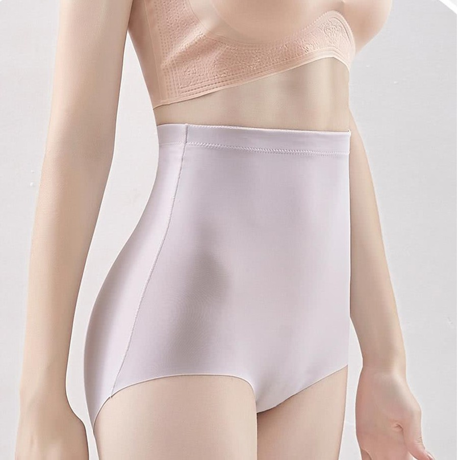 【艾妮歐】一片式輕薄無痕不夾臀高腰內褲(超值3件組)