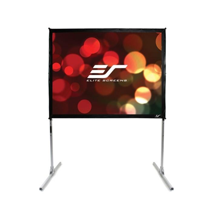 億立 Elite Screens Q72V 可攜型大型展示快速摺疊72吋布幕 公司貨享保固【名展影音】