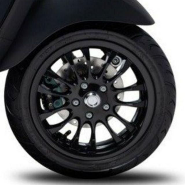 【大發】Vespa 原廠進口衝刺原廠12吋前輪框 黑色