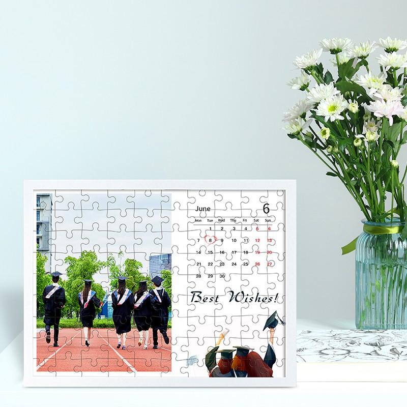 Gifthing 畢業禮物 客製化拼圖 相片客製化 畢業寫真 拼圖 禮物 交換禮物 送相框