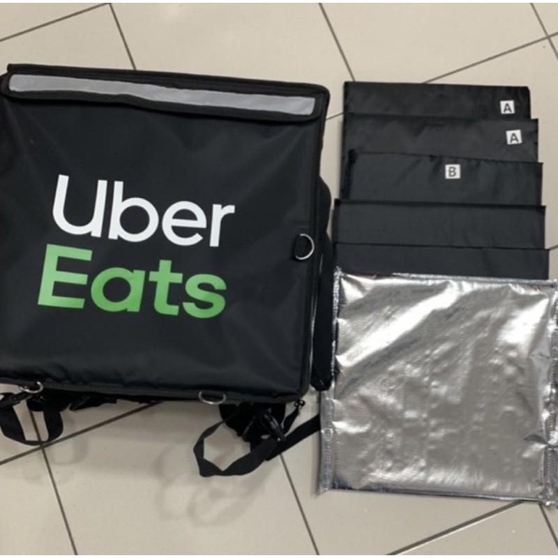 Uber Eats 官方(黑)保溫袋(四代大包)上掀式  最後一組  下殺1050  買到賺到。