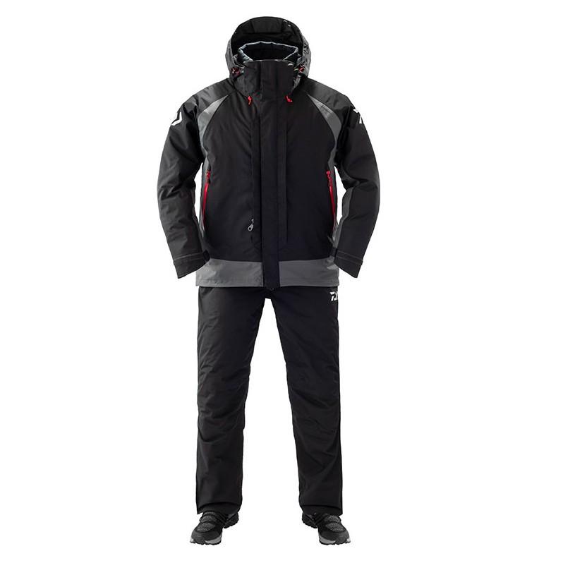 DAIWA 19年新款 中棉保暖防寒釣魚套裝/雨衣 DW-3409