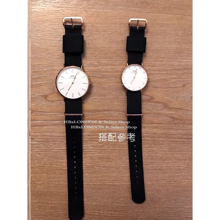 HB Shop--18mm 玫瑰金 尼龍錶帶 北約軍綠色 NATO SEIKO CASIO DW 經典老錶 古董錶勞力士