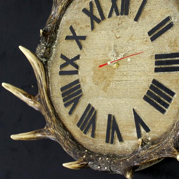 【58街】創意設計師款式「獸腳、鹿角時鐘-超靜音掛鍾」造型鍾、特殊鍾。AB-148