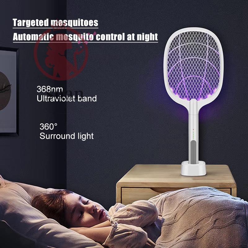 充電式USB電蚊拍滅蠅器便攜式手提家用