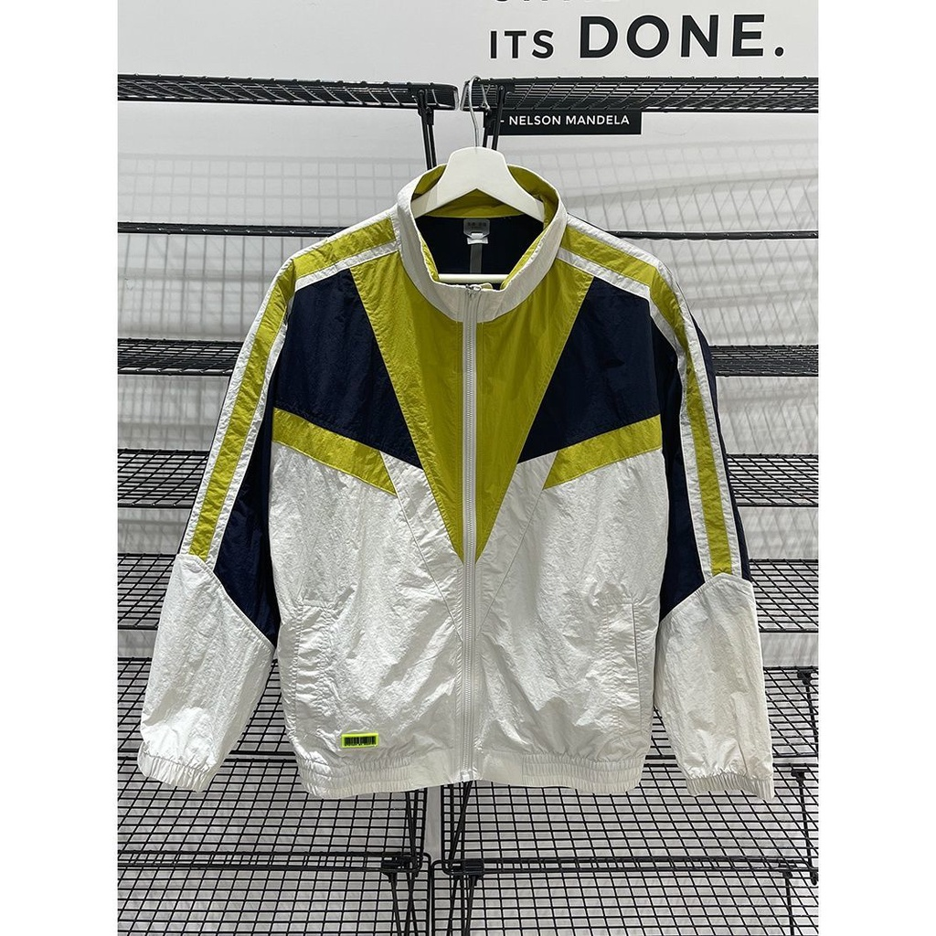 機能防護夾克 機能防護外套 防曬衣服透氣薄款外套2021夏季新款男裝運動防風立領休閒夾克外套