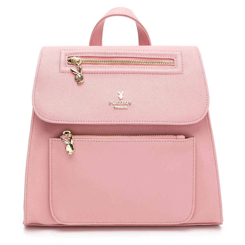 PLAYBOY- 後背包 Cozy系列-粉色