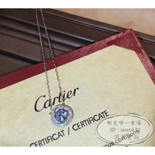 Cartier卡地亞項鏈 新款專櫃熱銷款 鑲鑽925純銀女士精緻項鏈