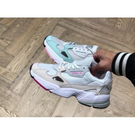 全新Adidas Originals Falcon W 老爹鞋 愛迪達 灰 粉 白 女鞋 綠B28127