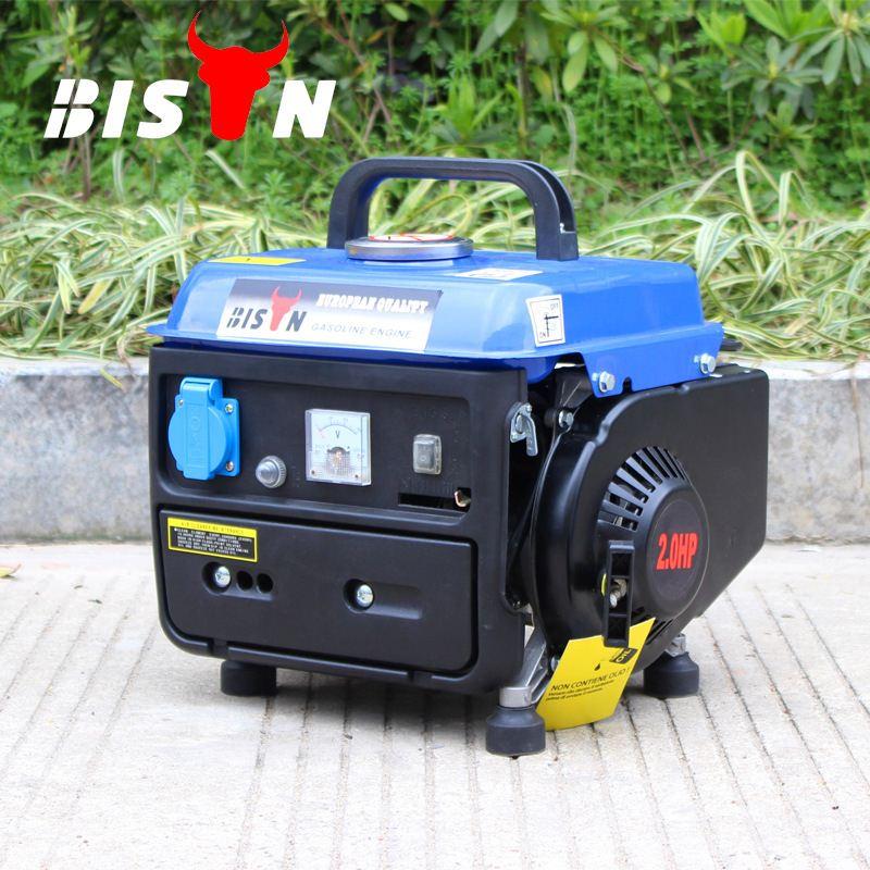直銷柏森0.65KW迷你汽油發電機110\/220V單相家用小型發電機應急發電