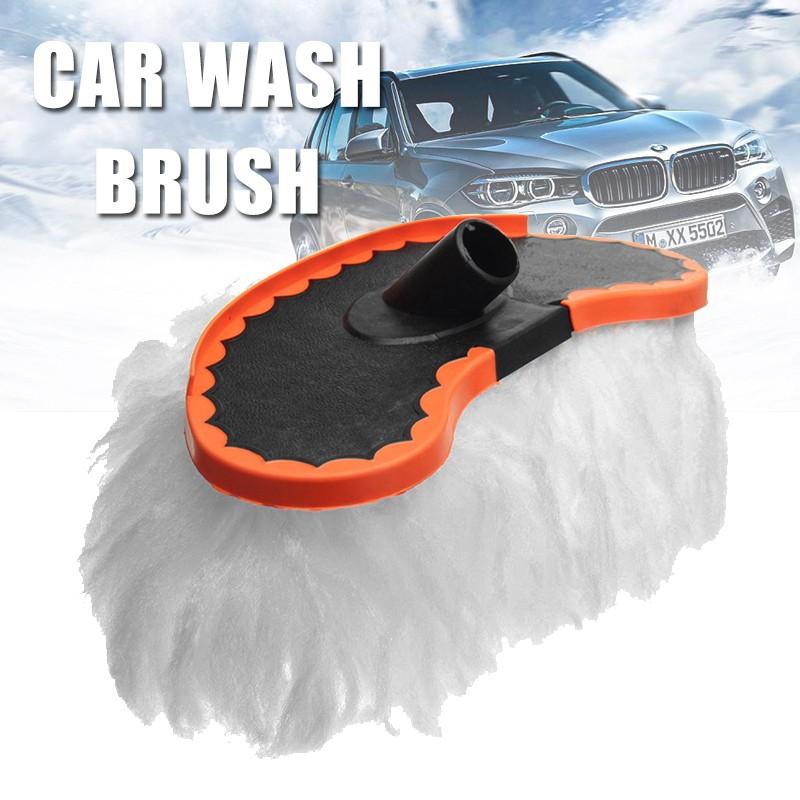 洗車刷軟替換拖把, 用於車輛伸縮手柄清潔工具 Shbarbie