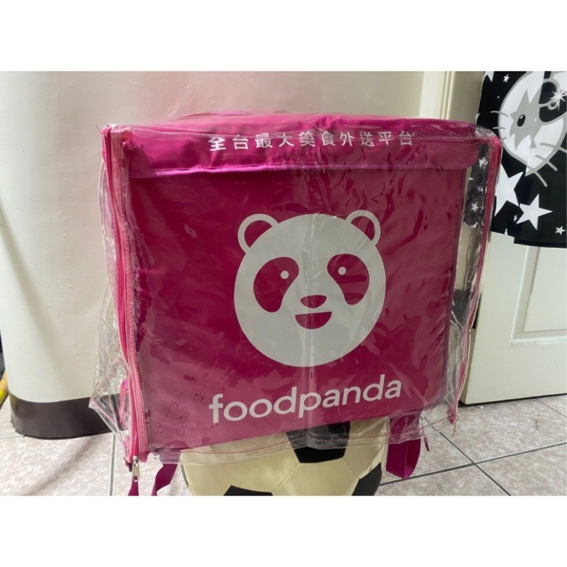 Foodpanda、uber 外送大包防水雨套