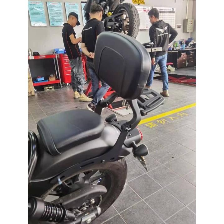 柯達金 Rebel 500 改裝扶手靠背後架支持本田 Cm500 Cm300 2017-2020 的貨物架