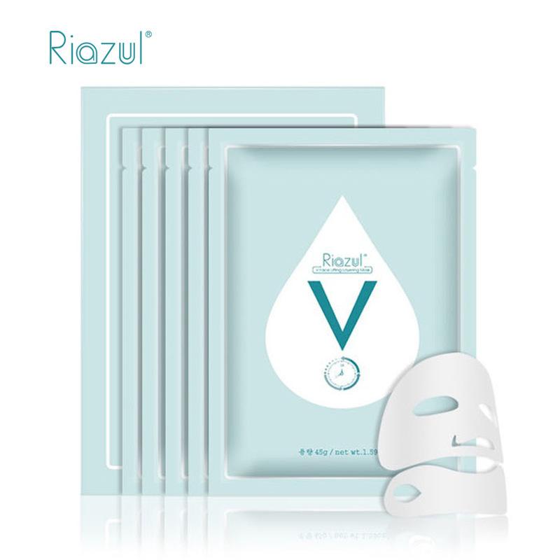 【美妆保健】【現貨】韓國Riazul V臉面膜女深層補水保濕提拉緊緻肌膚5片