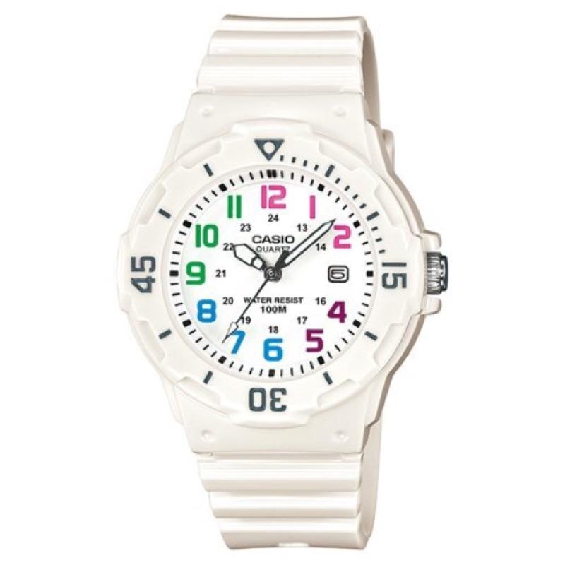 卡西歐CASIO外觀設計以潛水風格為概念的女性運動風錶款LRW-200H.LRW-200H-7B.LRW-200