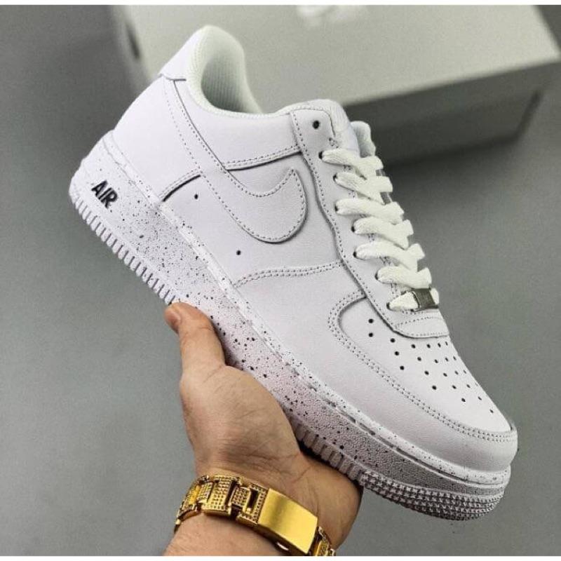 Nike Air Force 1潑墨新款男女生運動板鞋