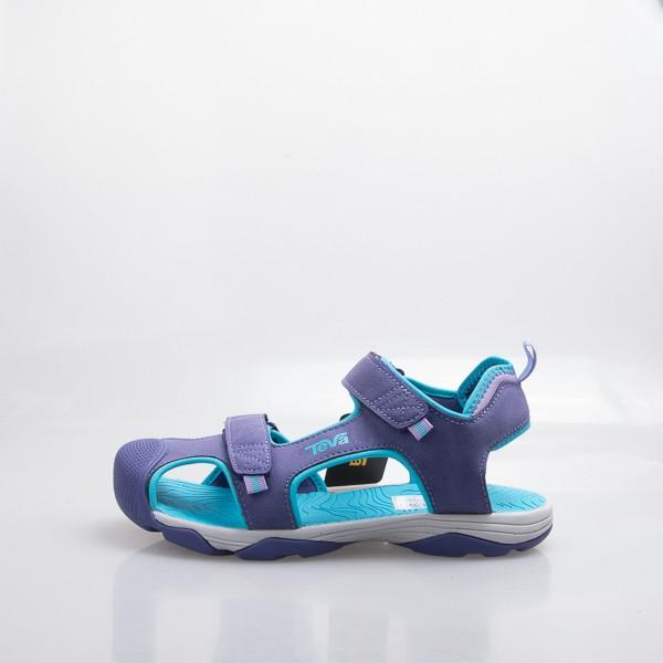 TEVA 兒童 Toachi 4 多功能 護趾 中童涼鞋-紫 110428JPSBB 零碼出清