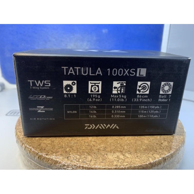 路亞小烏龜 DAIWA TATULA 100XSL