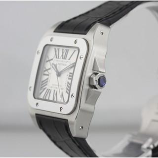 常客卡地亞Cartier山度士系列 Santos 100 W20106X8 男士商務腕錶 機械錶 桃園市