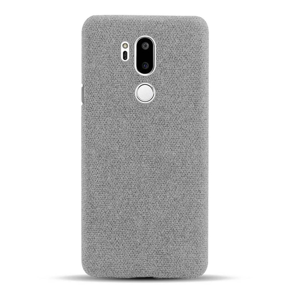 LG手機殼 保護套 防摔殼 0414# 適用于lgg7手機殼布面LG G7/+ ThinQ防摔保護套LGG7+簡約個性硬
