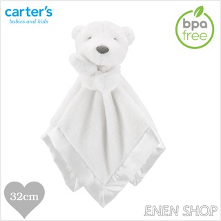 『Enen Shop』@Carters 甜蜜小熊款baby安撫毛巾 #67607|one size 新生兒/ 彌月禮 新竹縣