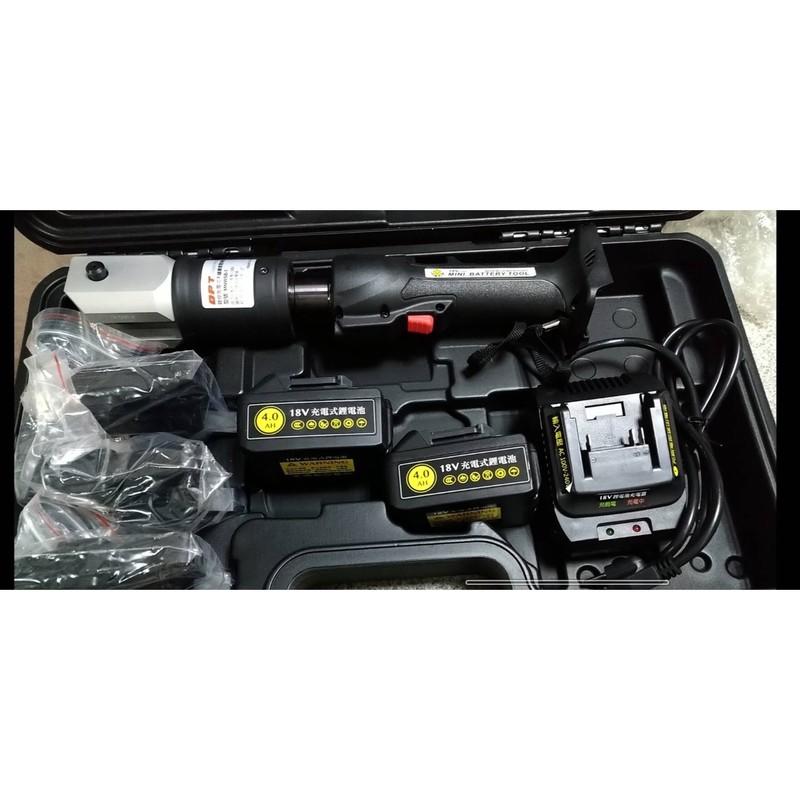 OPT-MNWSB-1-充電式壓接機(雙電)附4分、6分、1吋模具