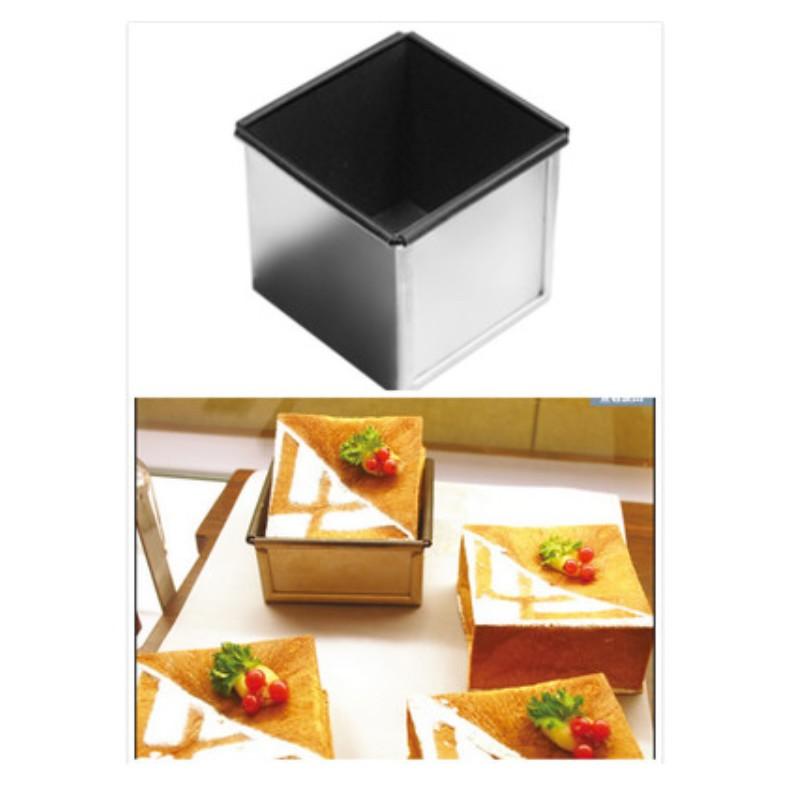 三能 正方型土司盒(含蓋) 不沾土司模 吐司盒蓋 正方形吐司模 土司模 吐司盒 不沾 SN2180 蝦皮直送 現貨