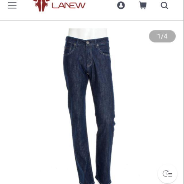 La new 男款雙彈秋冬禦寒牛仔褲