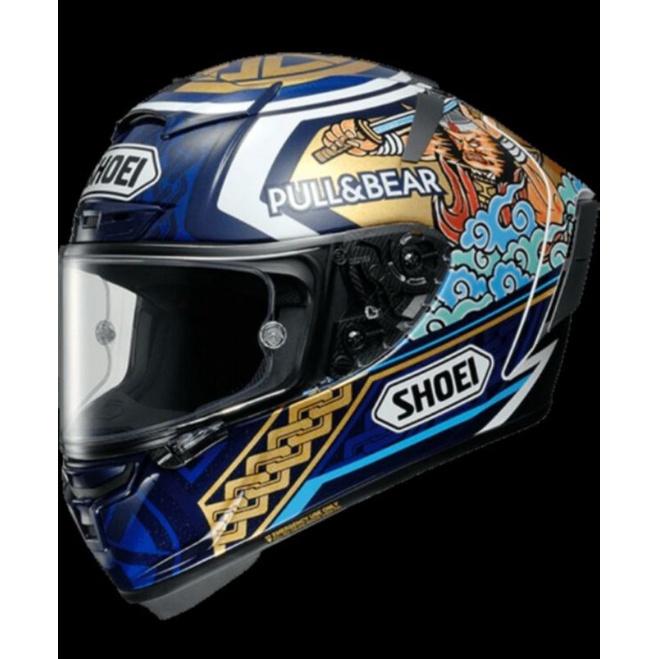 總代理SHOEI X14 祭典帽 全球限量版 Marquez motige3 tc-2 M可議價
