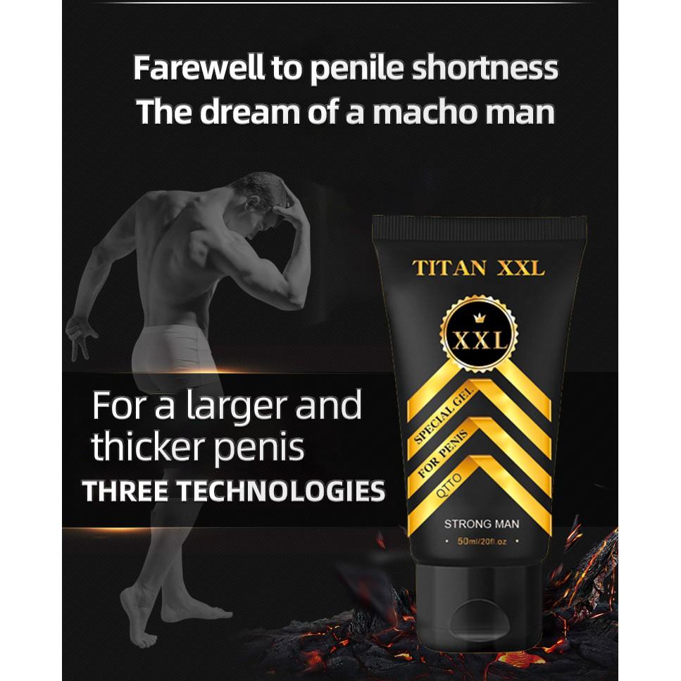 【猛男必備】QTTO皇冠TITAN XXL 男性私處按摩膏 泰坦凝膠男性精油50ml