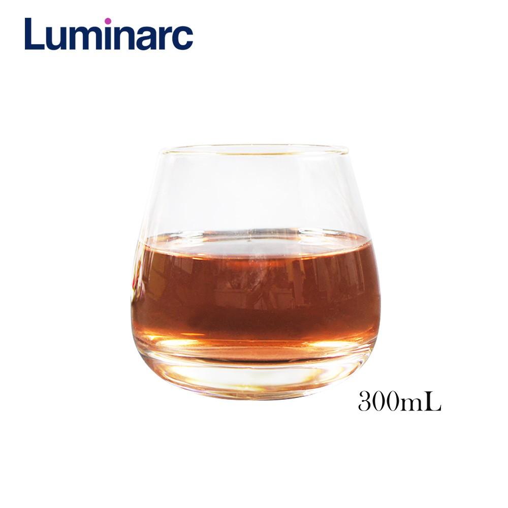 法國樂美雅Luminarc 杯口純金邊干邑系列(300cc 350cc)兩款 水杯 酒杯 玻璃杯 飲料杯 冷飲杯