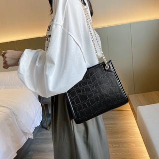 ✨2021新款✨大容量 包包女  新款潮時尚網紅 單肩包 斜挎包 百搭 簡約 鏈條包 托特包 小方包 純色 鍊條包
