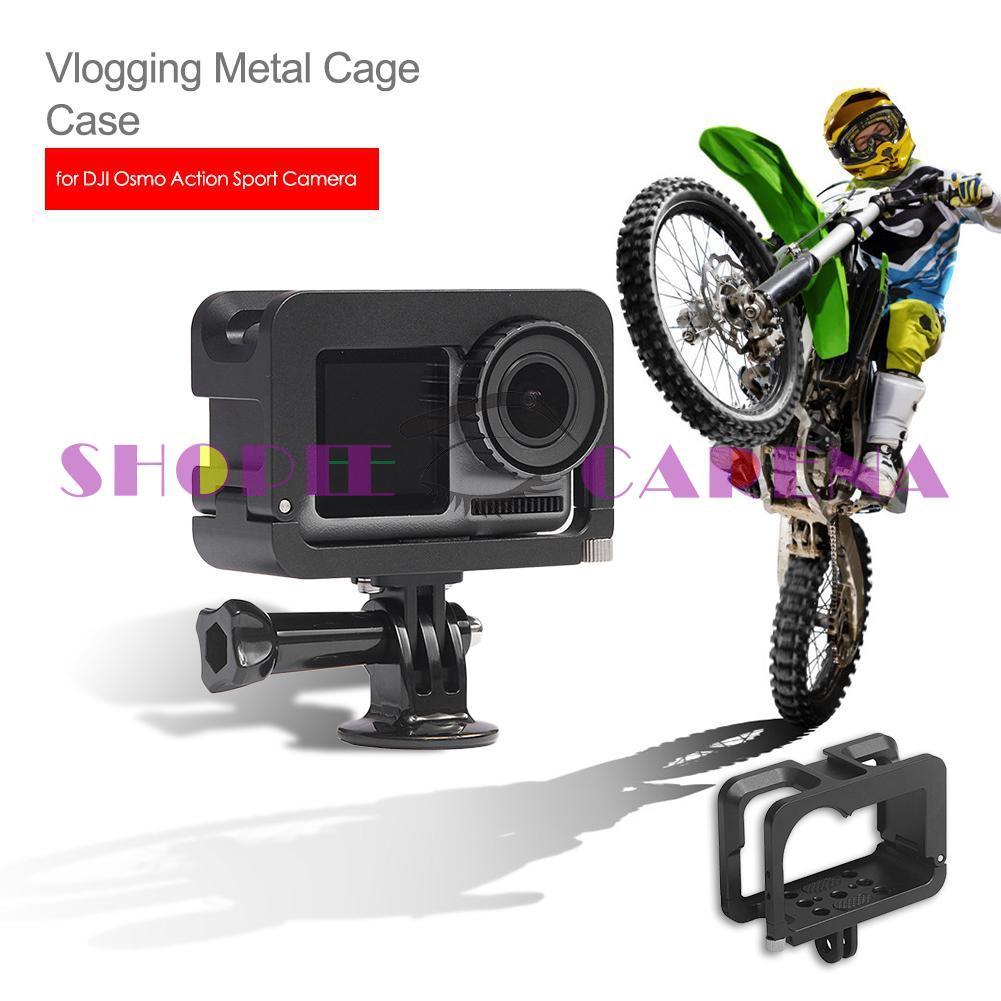 Dji Osmo Action 運動相機麥克風的 Vlogging 金屬籠盒