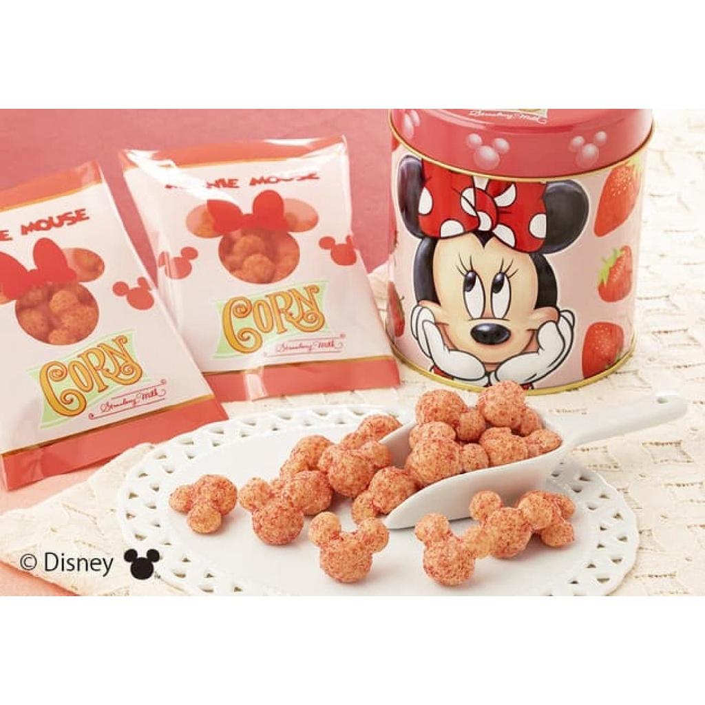 日本代購 ~ Tokyo Banana x 迪士尼 米妮 米奇 立體造型 焦糖 草莓牛奶玉米餅乾