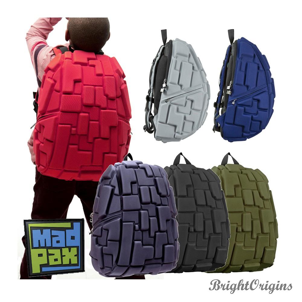 【MadPax】時尚造型包 積木包 大包 (共六色)